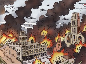 Bommen op burgers